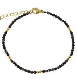 Lea Bracelet Black Agate