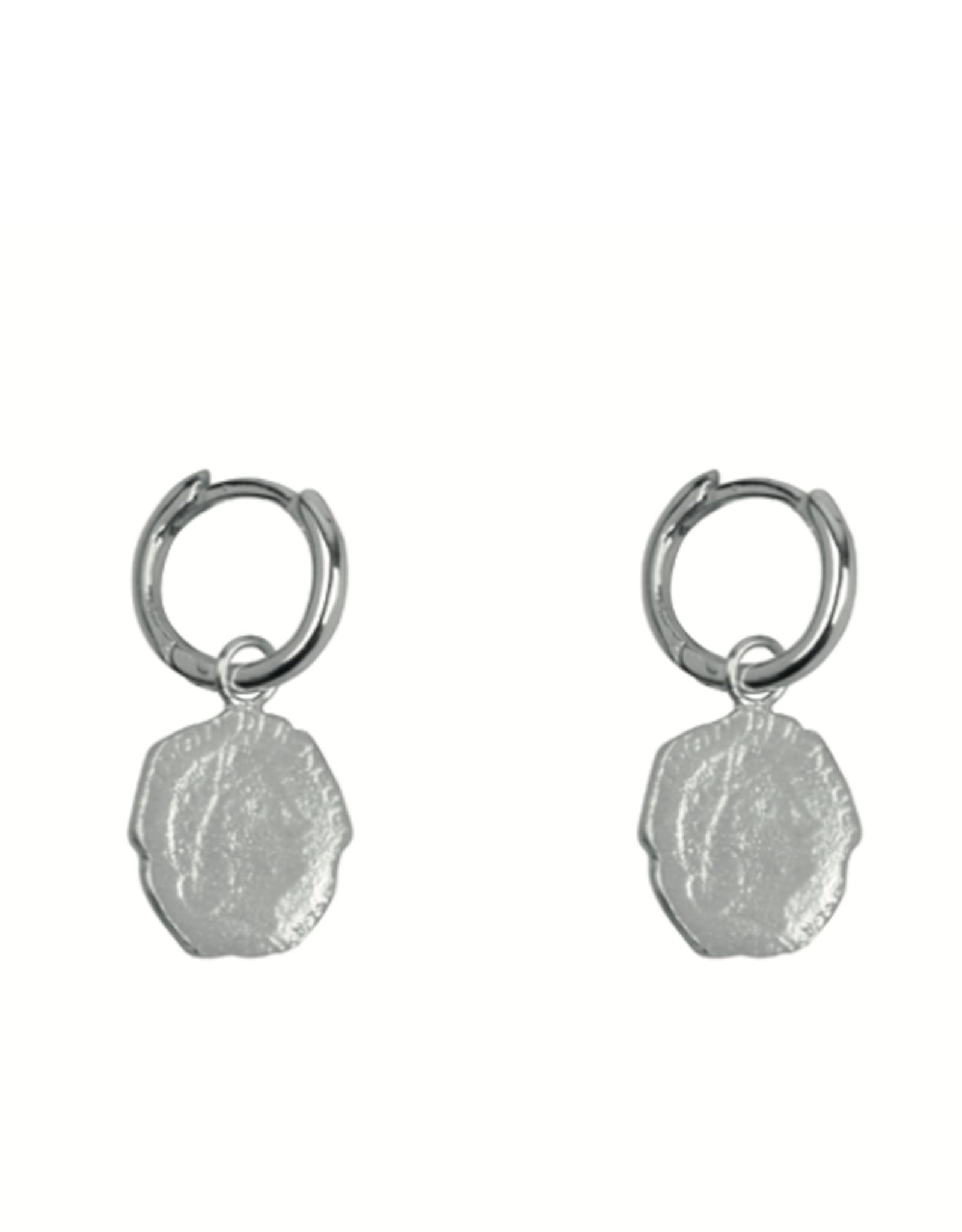 Ten Cent Hoops (Silver)