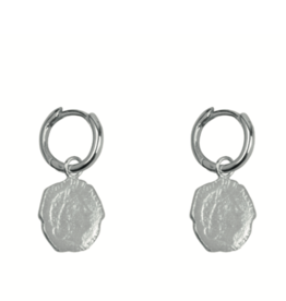 Ten Cent Hoops (Silver)