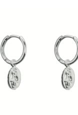 Mini Maria Hoops (Silver)