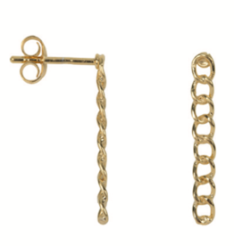 Medium Chain Stud (Gold)