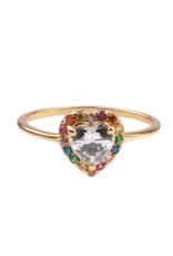 Chérie Heart Ring