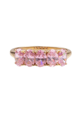 Ovals Light Pink Ring