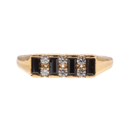 Black Bar Ring