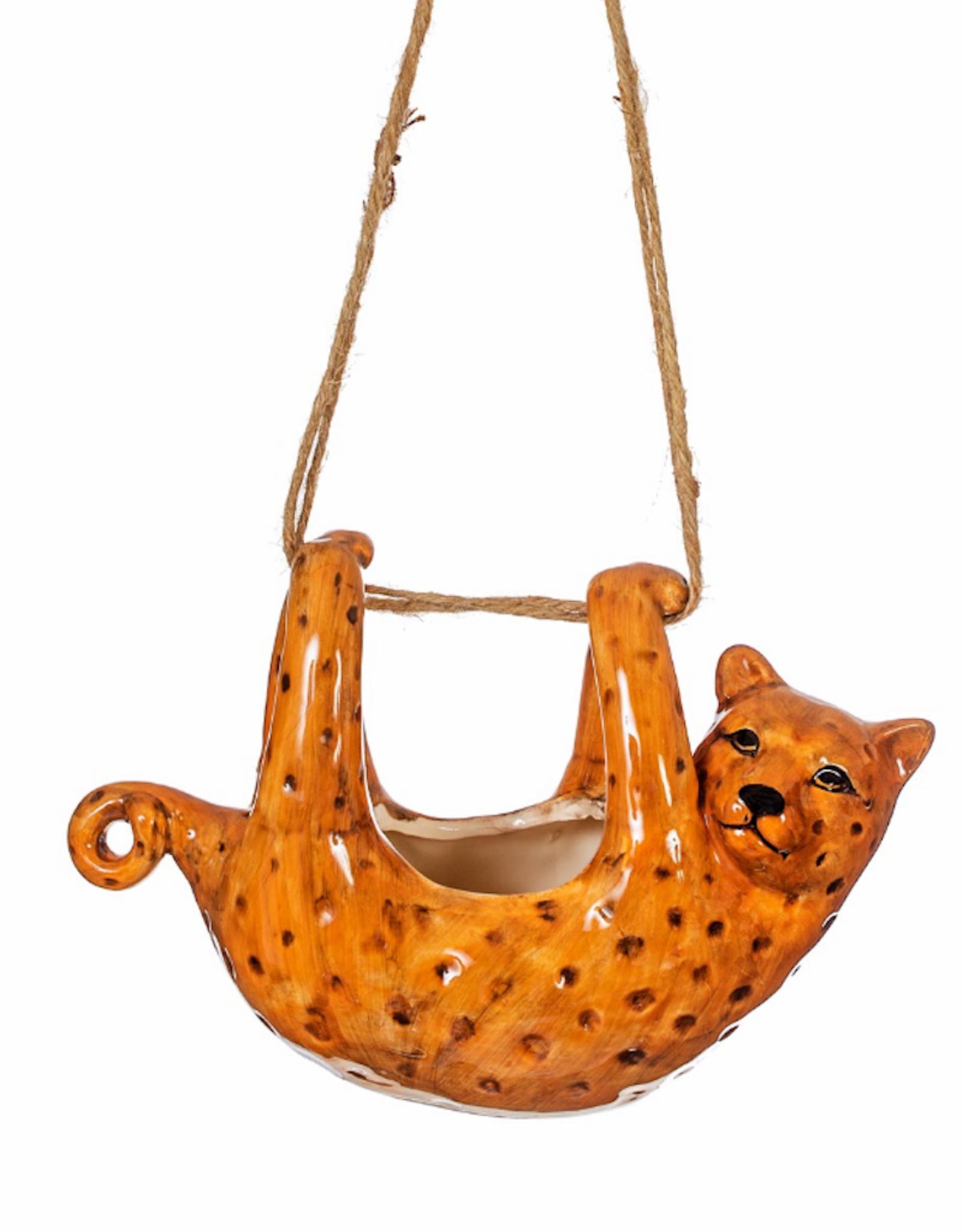 Hanging Leopard Planter