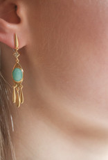 Goa Trip Earring Amazonite