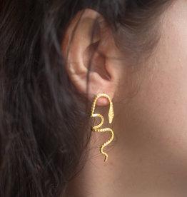 Serpent Love Earring
