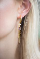 Bomb-y-love Earring Amethyst