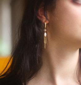 Bomb-y-love Earring Pearl