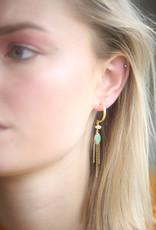 Bomb-y-love Earring Amazonite