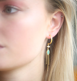 Bomb-y-love Earring Amazonite