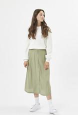 Maisa midi oil green skirt