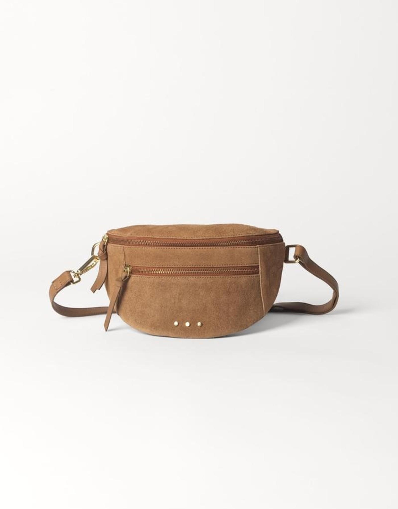 Suede Addison Bag