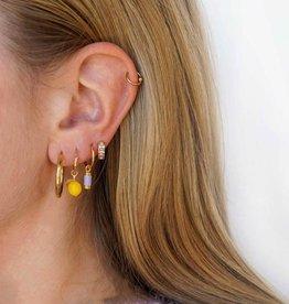 Lemon Earring Gold