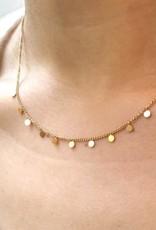 Rain Necklace Gold