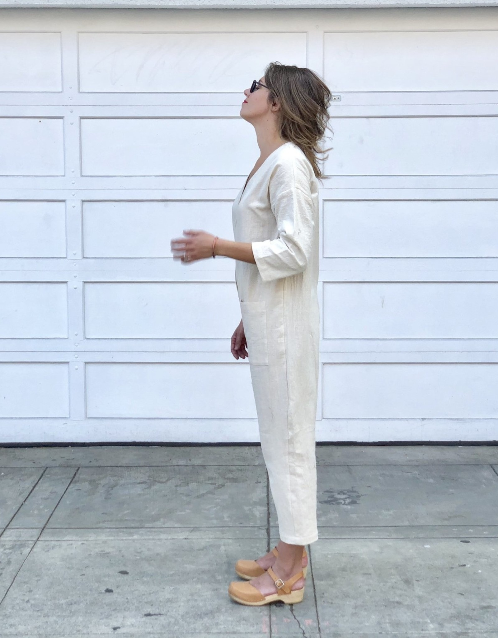 White Gang Jumpsuit