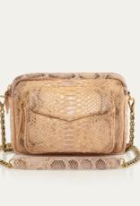 Champagne Python Big Charly Bag