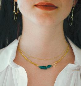 Andaman Necklace (Rough Amazonite)