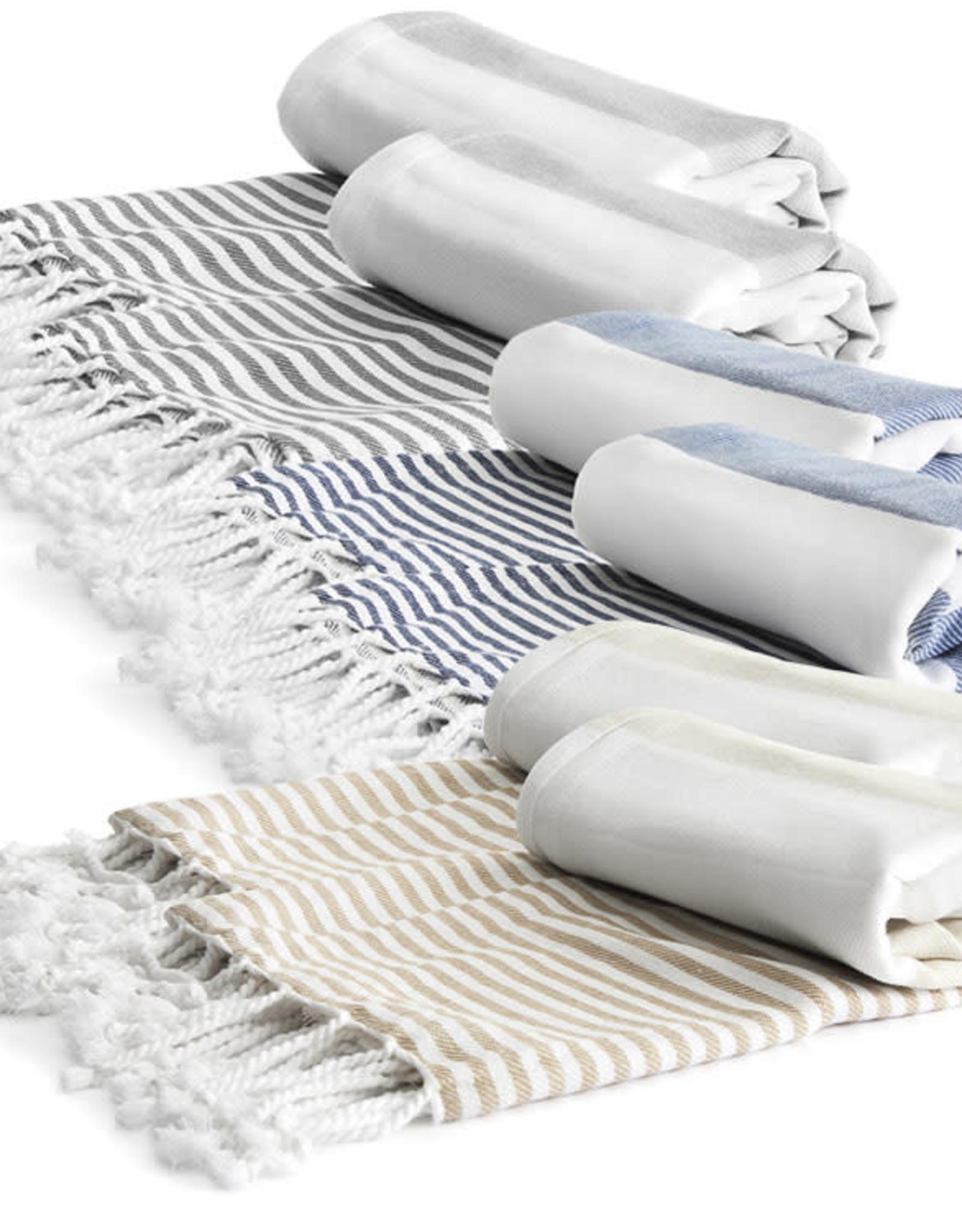 Hamam Blanket Grey 90x170cm ECO