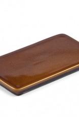 Bitz Serveersteen L22-B12,5cm Amber