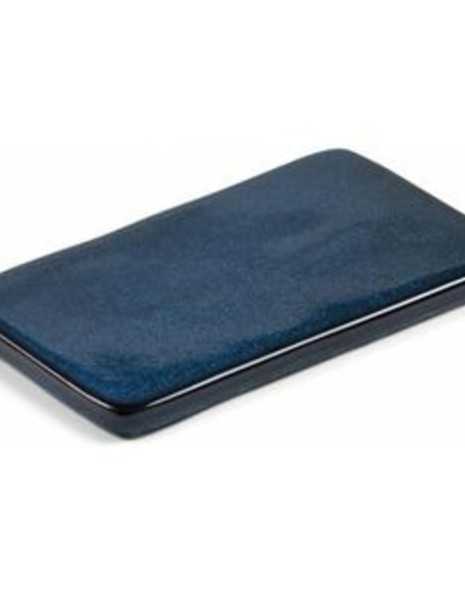 Bitz Serveersteen L22-B12,5cm Blauw