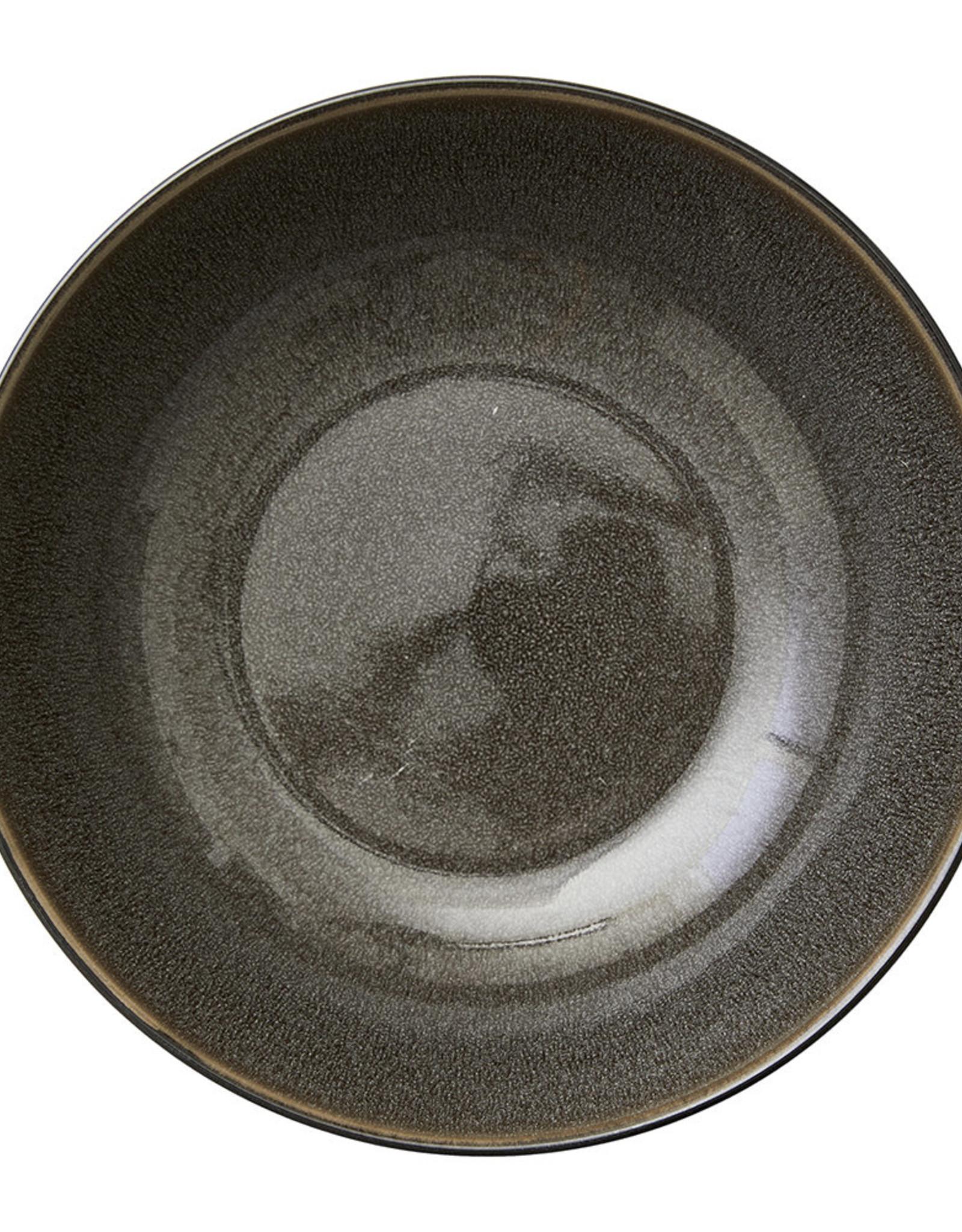 Bitz Salad Bowl 24cm Black/Grey