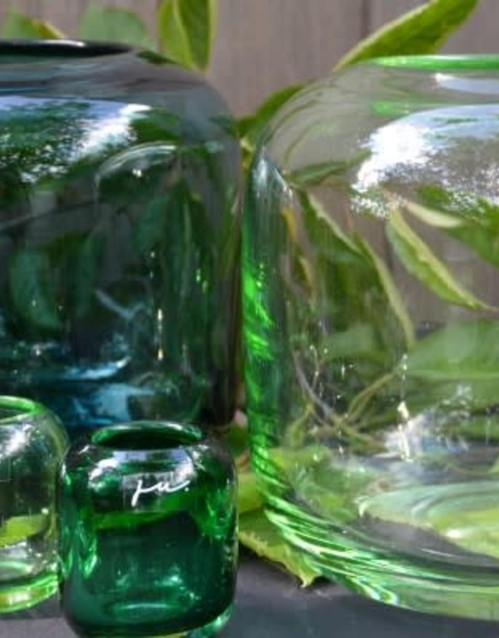 Vase Corina Hurricane S (18x18cm) Dark Green