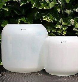 Vase Corina Hurricane L (24x24cm) White