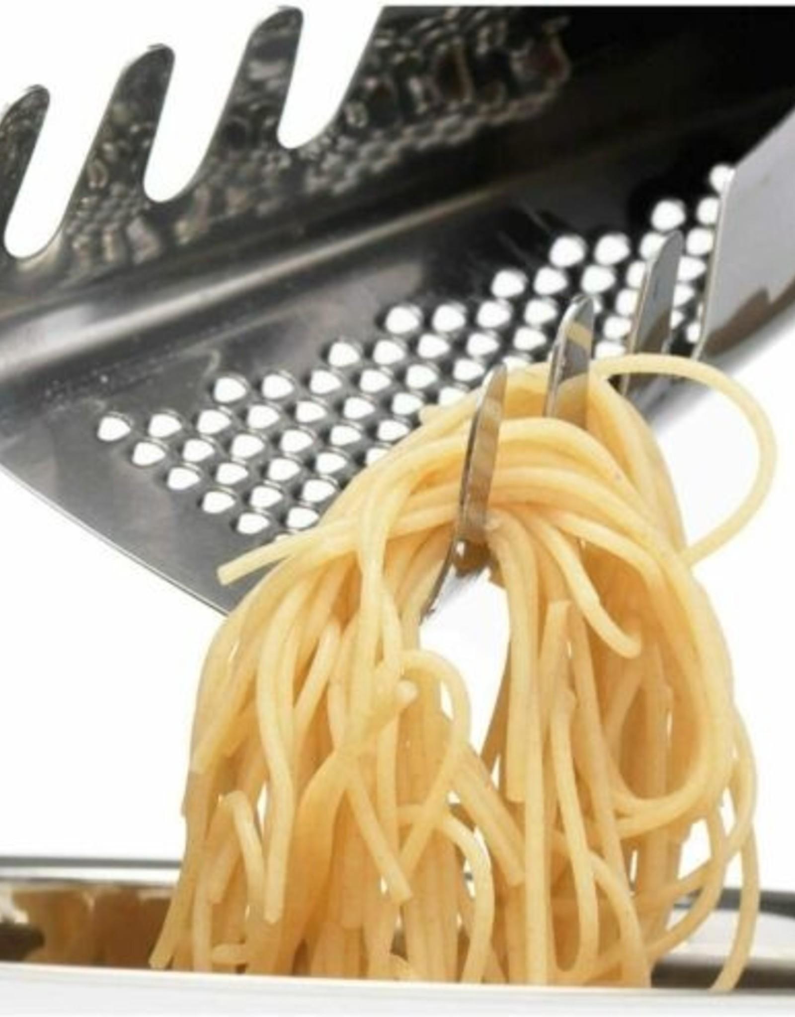 Pasta Server with Parmesan Grater