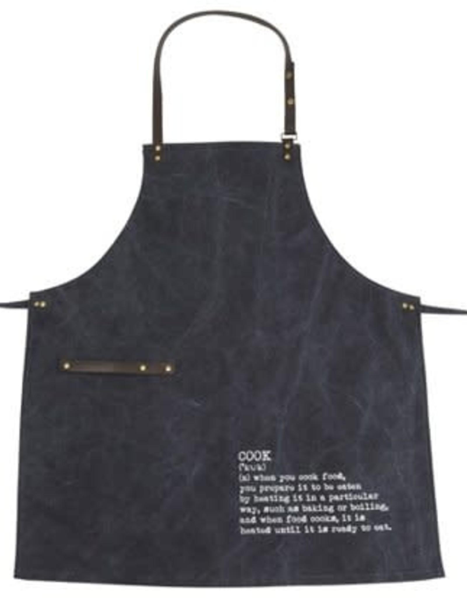 Schort Blauw 70x80cm