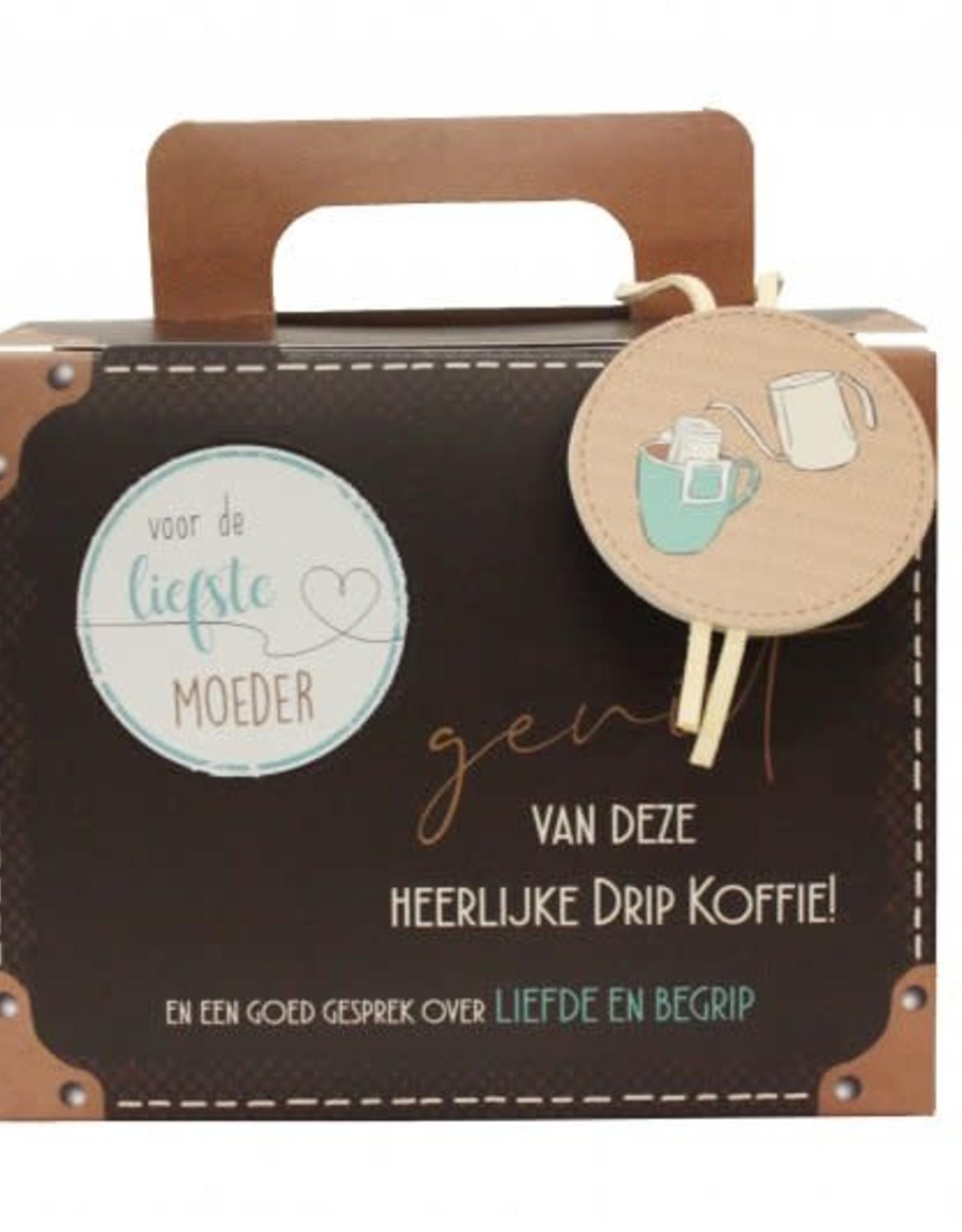Koffiekoffertje Koffiekoffertje Voor de liefste moeder !