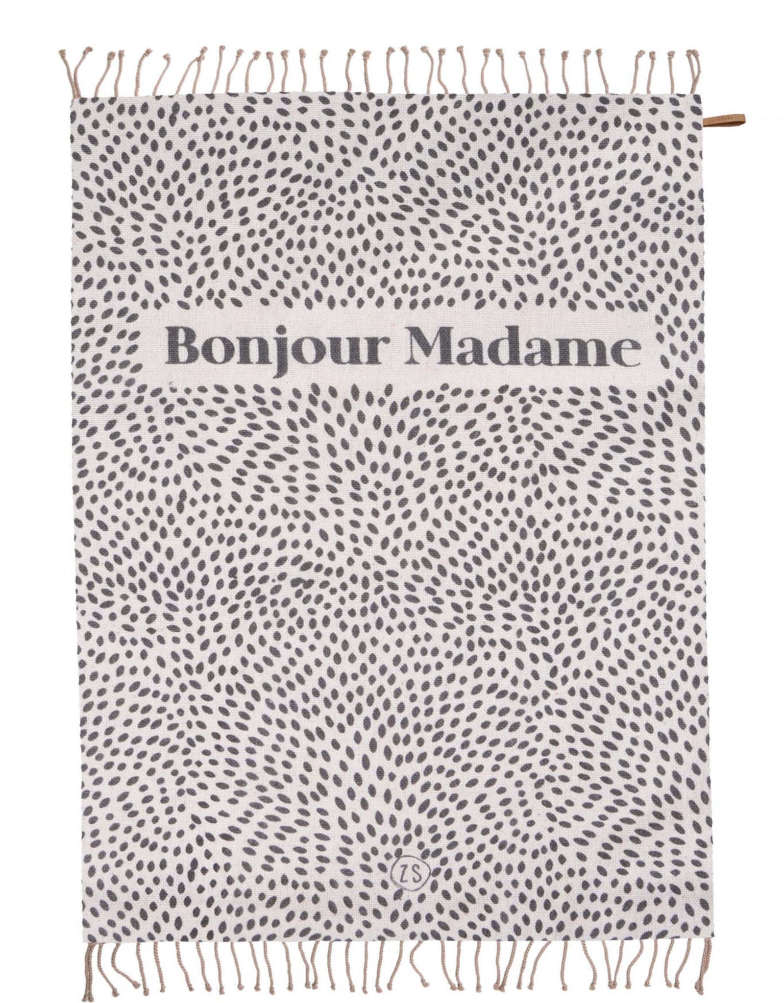 Plaid Bonjour Madame