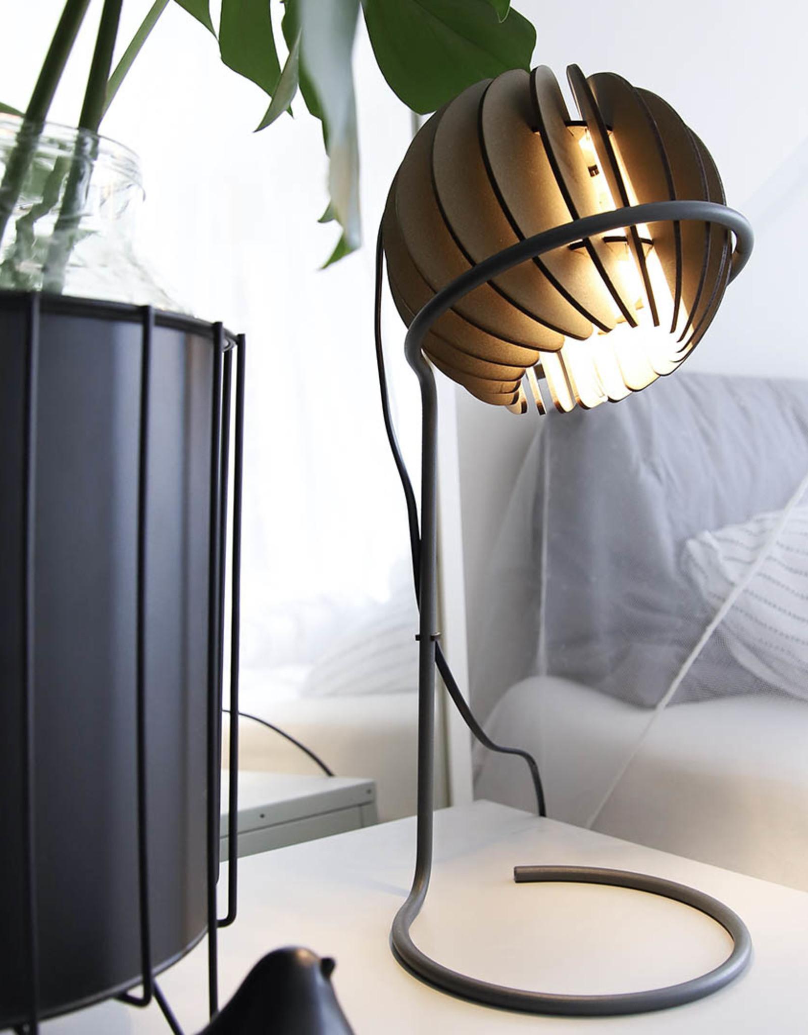 Lamp Atmosphere Desk Soft Grey + LED