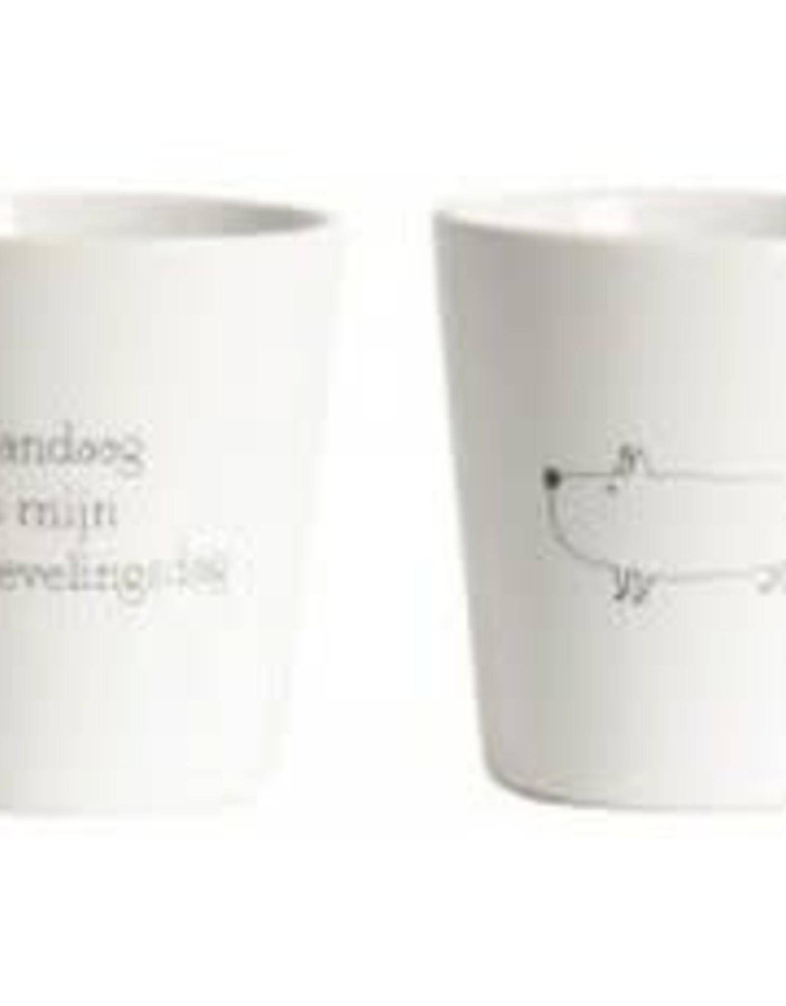 Mokje 7,5x8cm set Lievelingsdag/Hond