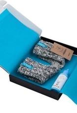 sox Sokken Baby Blue , Grey Tube- anti slip Maat 19-28