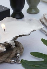 Oyster Candle + Oyster Rope Medium