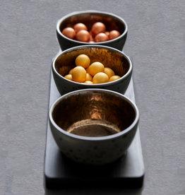 Bitz Bowl set van 3+plank Black/Bronze 10cm