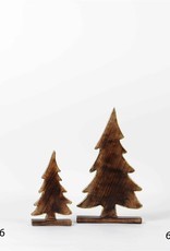 Rasteli Kerstboom Dark Burnt Tree 25x7x45cm