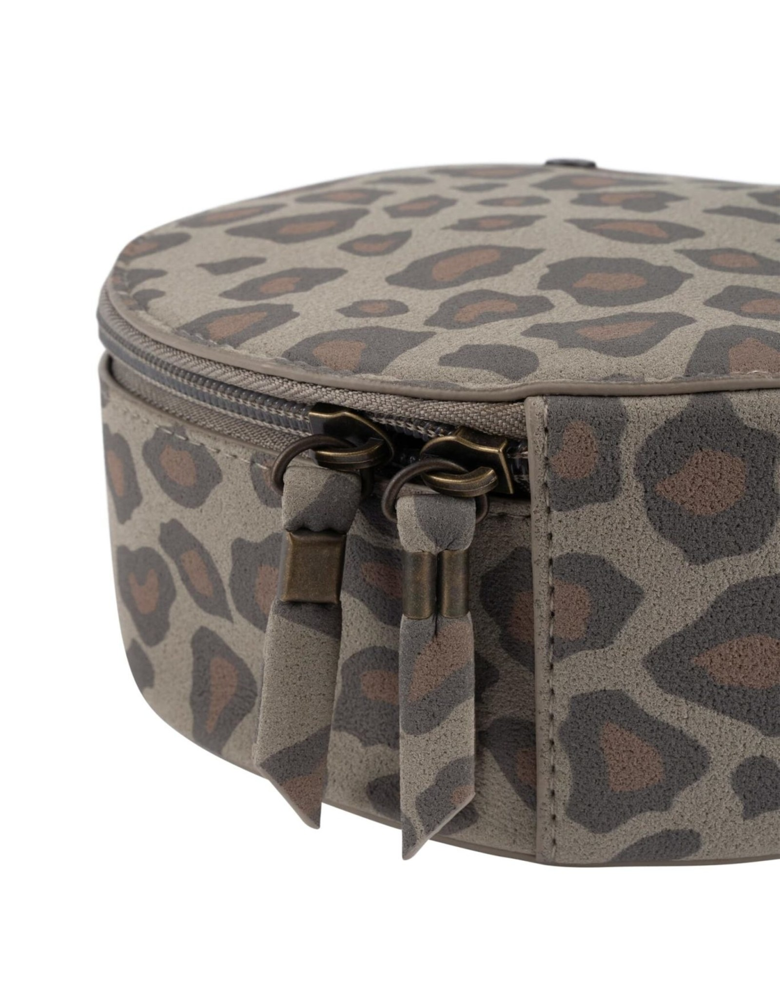 Make-up Tasje Rond Leopard