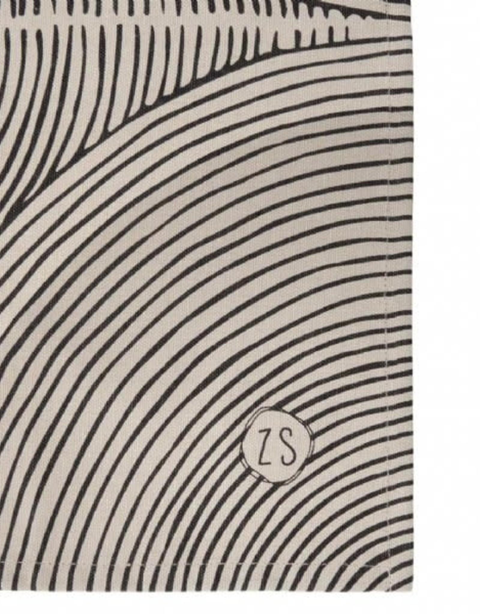 Theedoek Grafisch patroon Zand