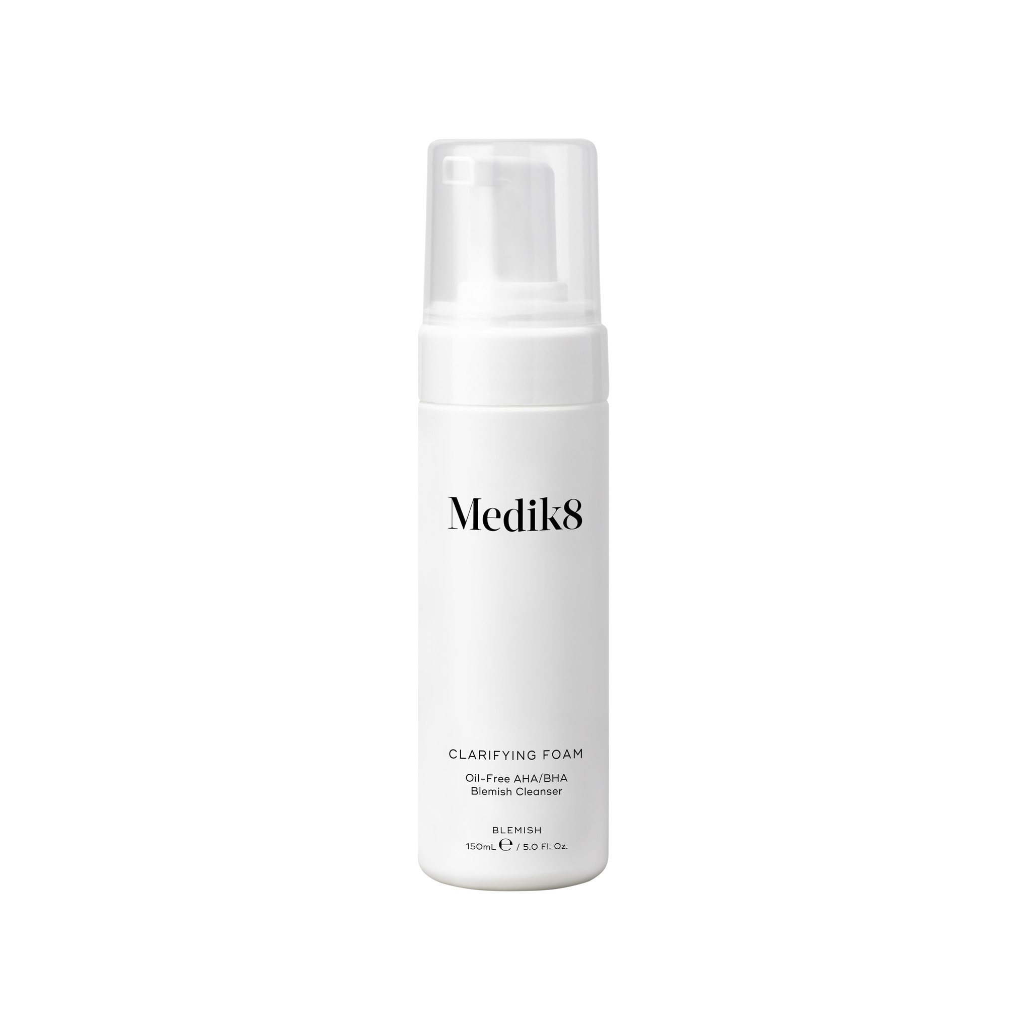 Medik8 Clarifying Foam | Oil-Free AHA/BHA Blemish Cleanser | 150ml