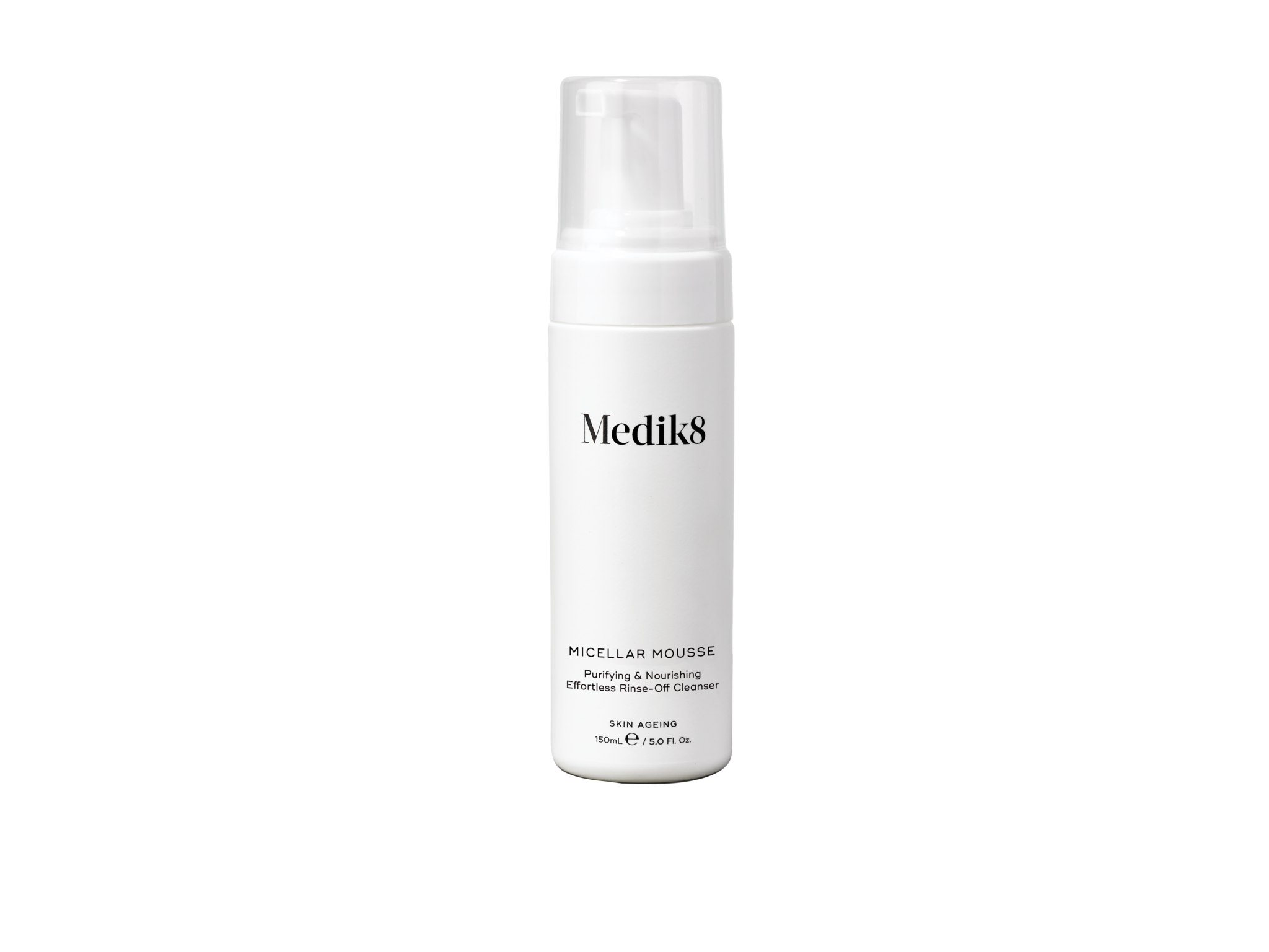 Medik8 Micellar Mousse | Purifying & Nourishing Effortless Rinse-Off Cleanser | 150ml