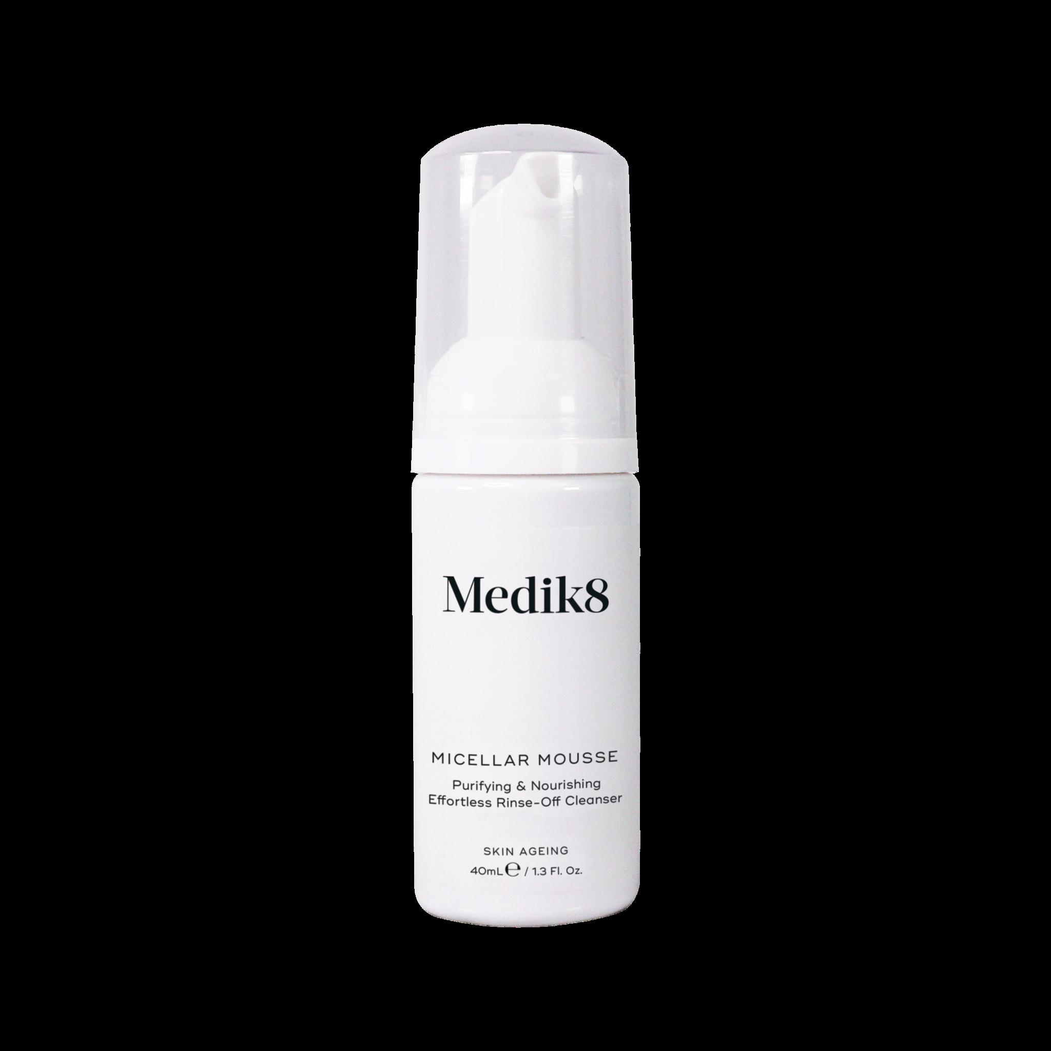 Medik8 Micellar Mousse   Purifying & Nourishing Effortless Rinse-Off Cleanser   40ml