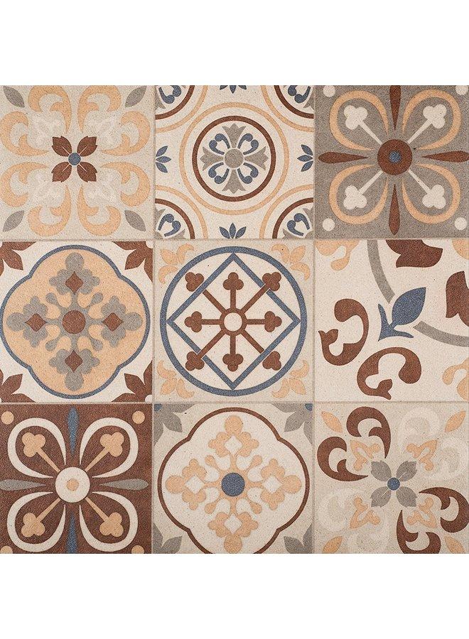 Designo Mosaic Terra 60x60x3 cm