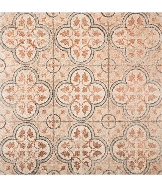 Gardenlux Designo Mosaic Brown 60x60x3 cm (prijs per tegel)