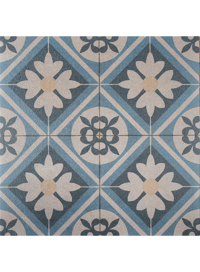 Designo Mosaic Blue 60x60x3 cm (prijs per tegel)