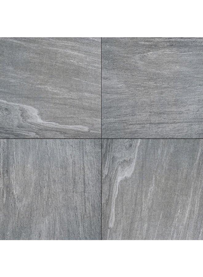 Cera1Line Cuarcita Plata 60x60x1 cm (prijs per tegel)