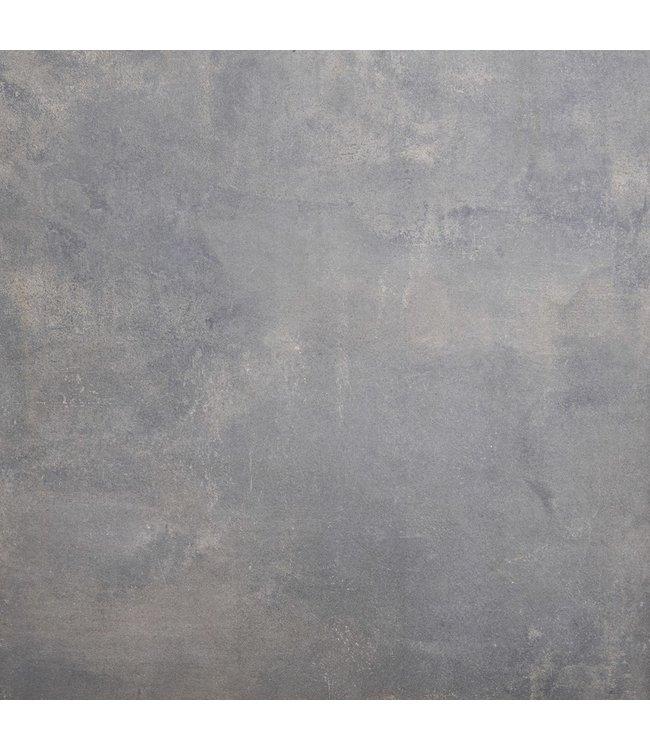 Gardenlux Cera4Line Mento Corten Black 100x100x4 cm (prijs per tegel)