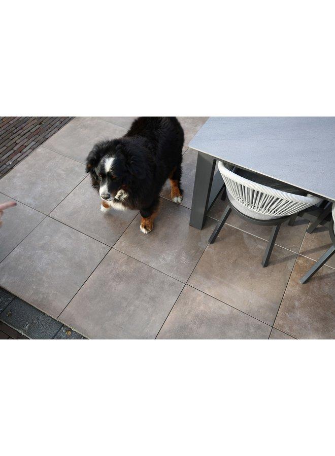 Cera4Line Mento Concrete Taupe 60x60x4 cm (prijs per tegel)