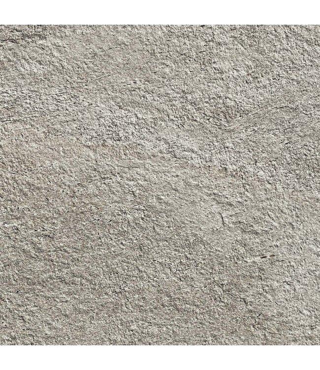 Gardenlux Ceramica Lastra Klif Silver 90x90x2 cm (prijs per tegel)